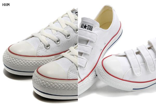 bottes style converse femme