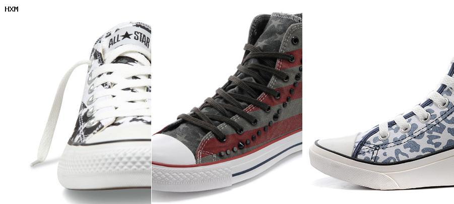 chaussures converse basse cuir