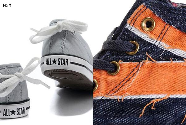 converse all star en cuir noir