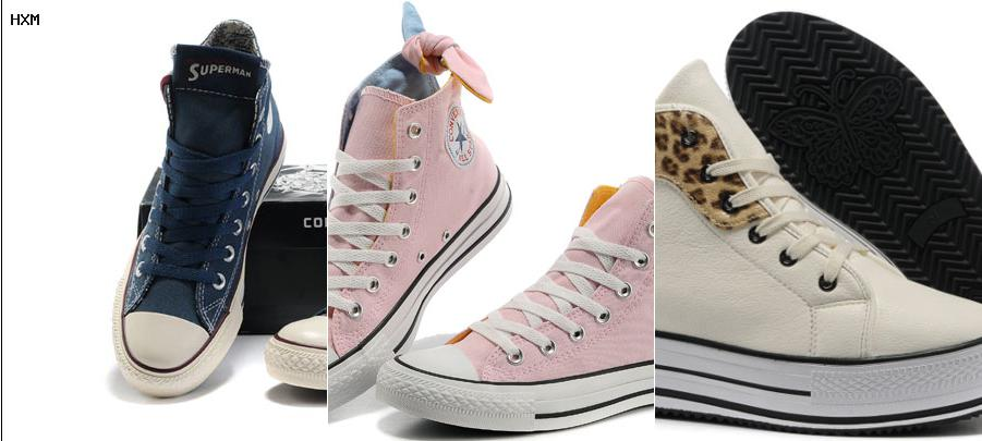 converse all star en cuire