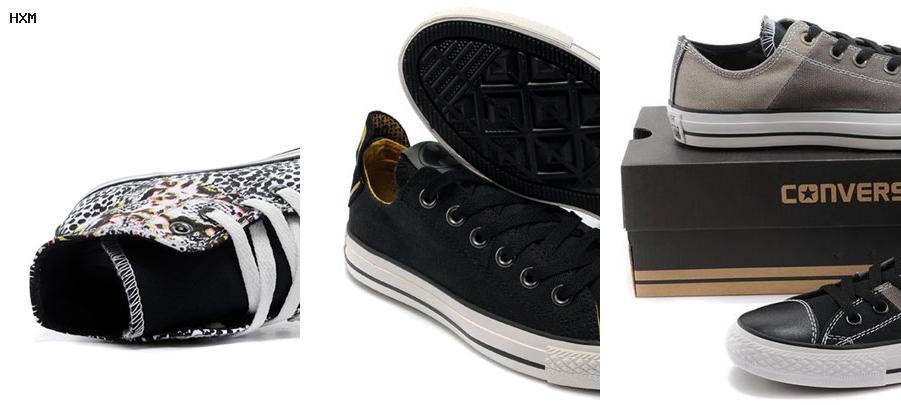 converse all star rouge basse