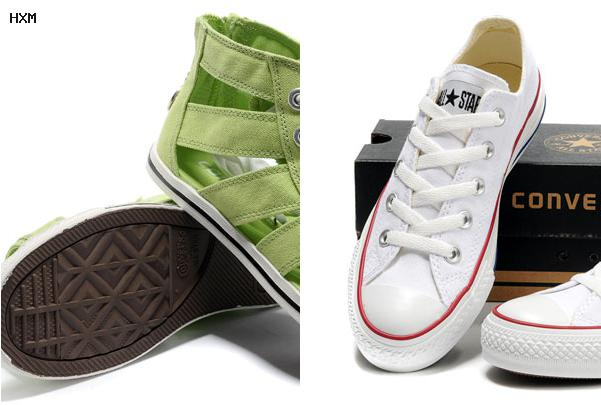 converse basses blanches