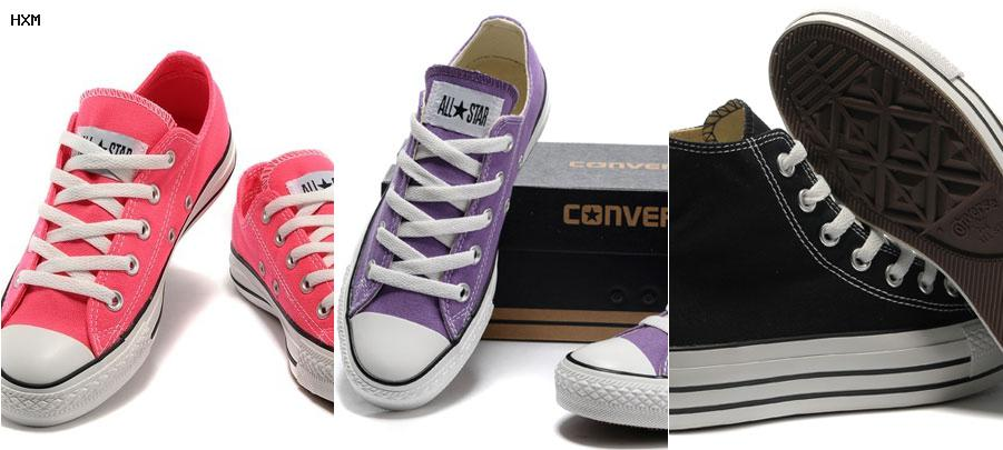 converse homme cuir basse