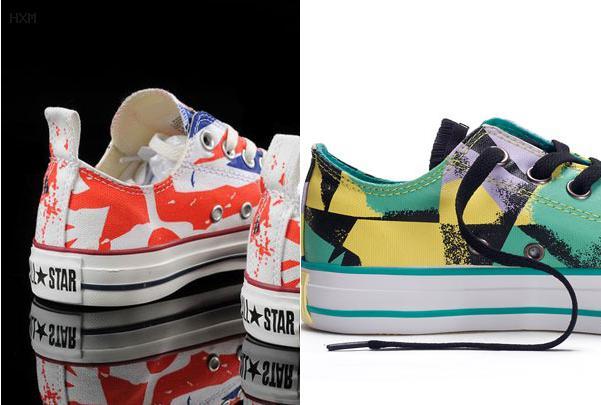 converse sneakers multicolor