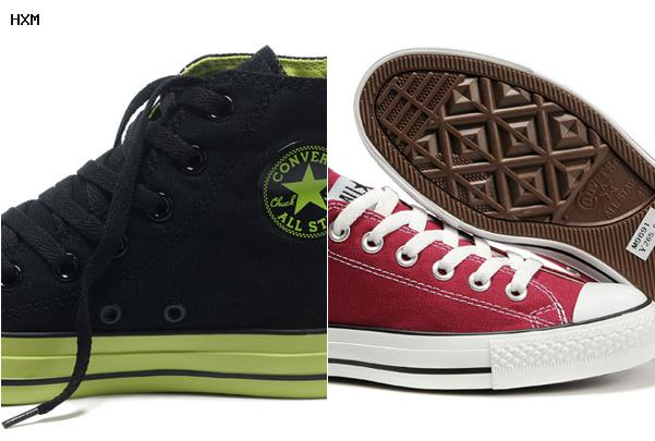 taille converse americaine
