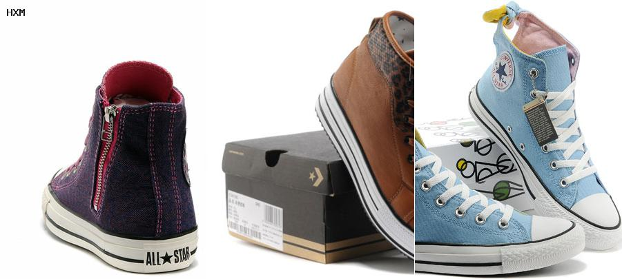 taille converse femme